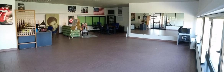 Salone - corsi di gruppo, eventi